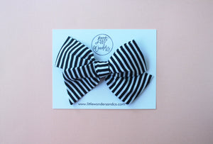 Ella | Hand Tied Bow - Ghouls