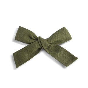 Eden |  School Girl Bow - Avocado