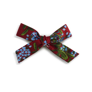 Eden |  School Girl Bow - Meadow Cornflower