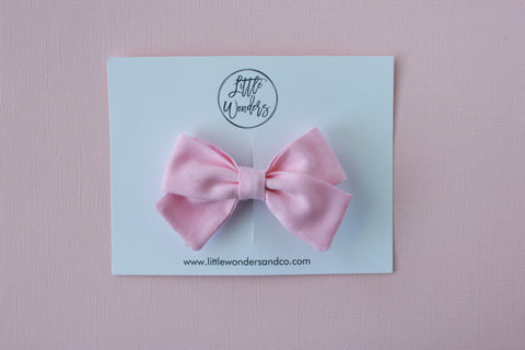 Marva |  Tied Sailor Bow - Blush