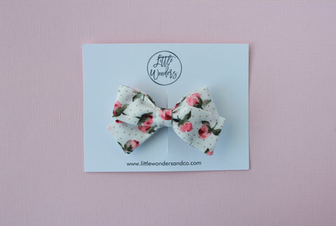 Marva |  Tied Sailor Bow - Berry Rose