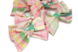 Ella | Plaid Pastel - April 2019 Past Bows