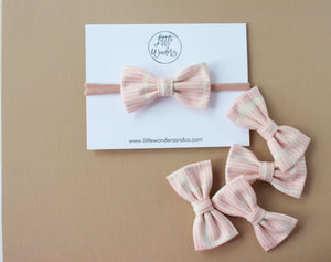 Morgan | Neutral Peach - April 2019 Past Bows