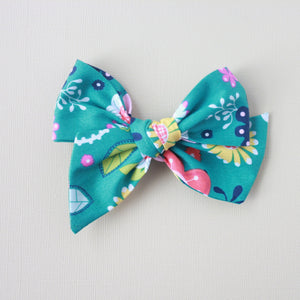 Ella |  Hand Tied Bow - Riley Blake Enchanted