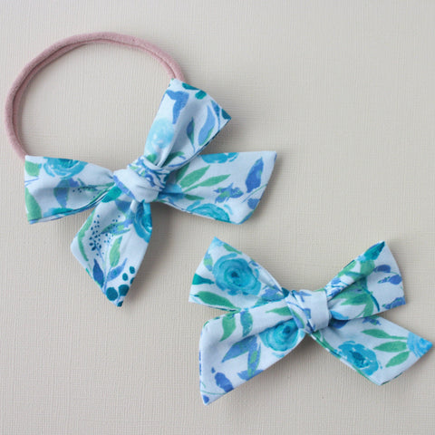 Eden |  School Girl Bow - Thunderbird