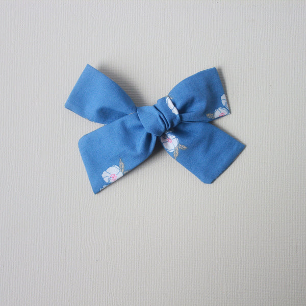 Eden |  School Girl Bow - Bunglehouse Blue