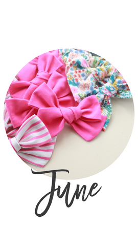 June 2019 Past Bows