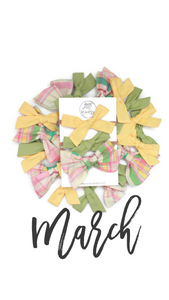 March 2019 Past Bows