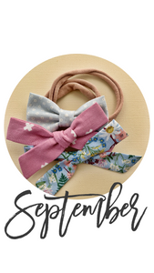 September 2019 Past Bows