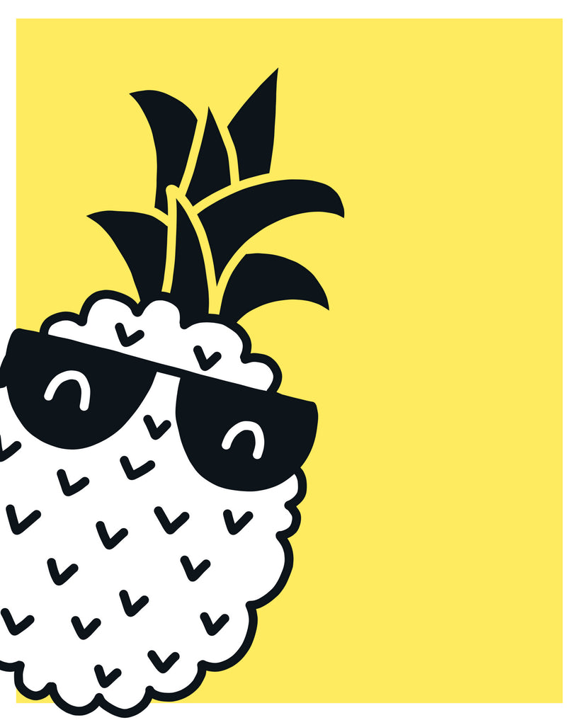 graphic relating to Pineapple Printable referred to as Also Neat Pineapple Printable Wall Artwork