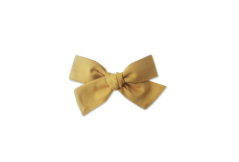 Ella |  Hand Tied Bow - Yarrow
