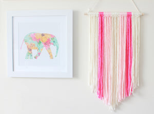 Bow Holder | Pink Ombre