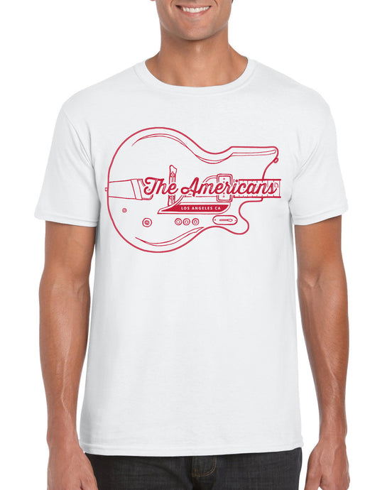 Guitar T-Shirt (red/white)
