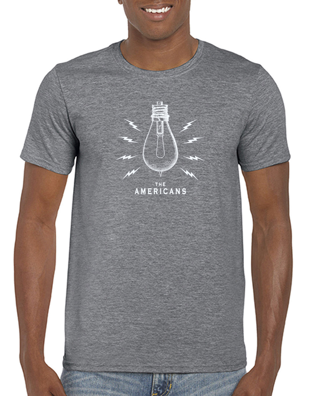 Light Bulb T-Shirt (heather gray)