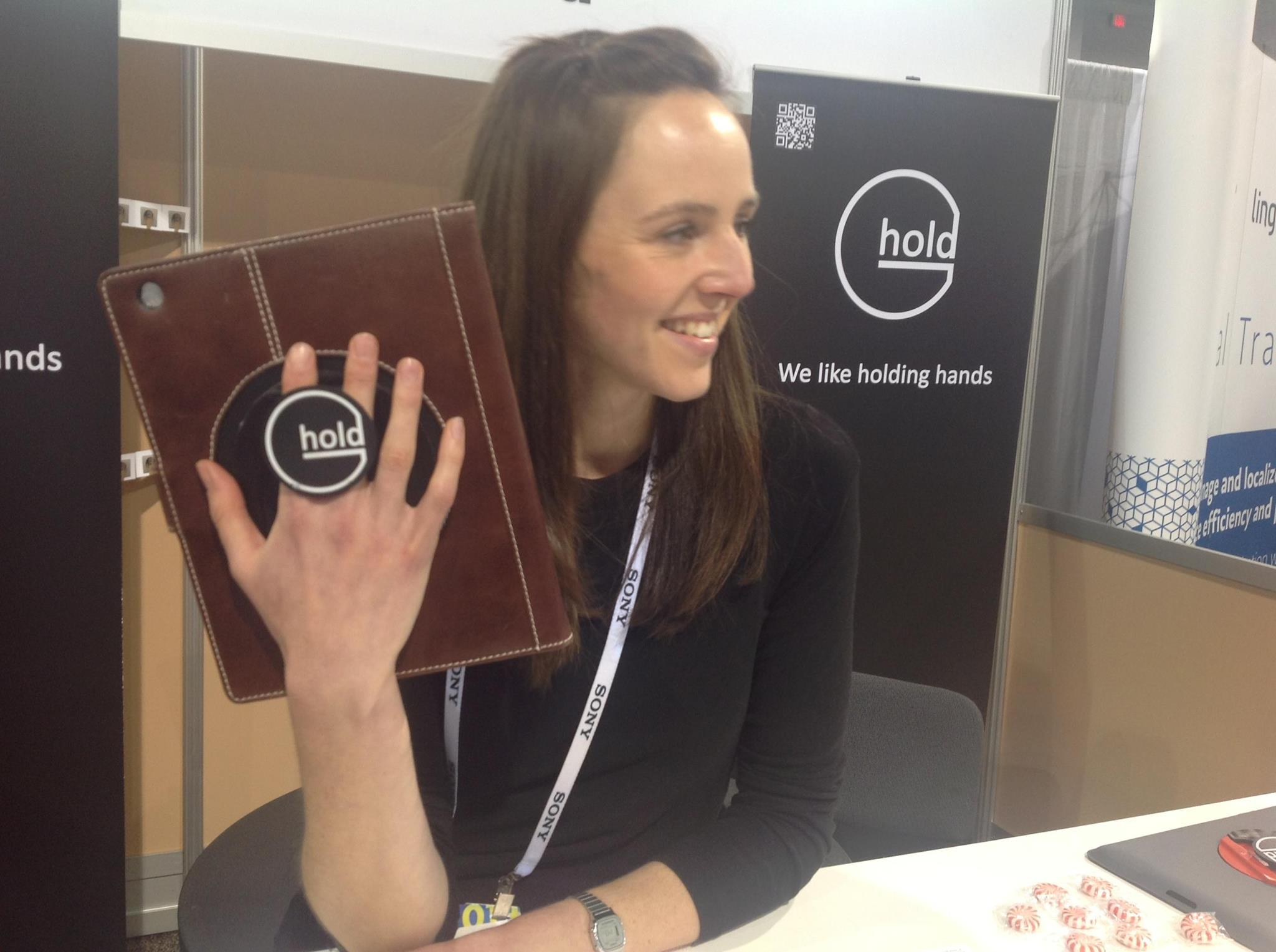 G-Hold at the Consumer Electronics Show in Las Vegas