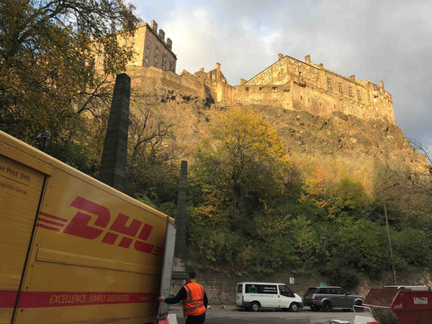 G-Hold Manufactures tablet holders and phone holders locally in central Edinburgh under the Edinburgh Castle