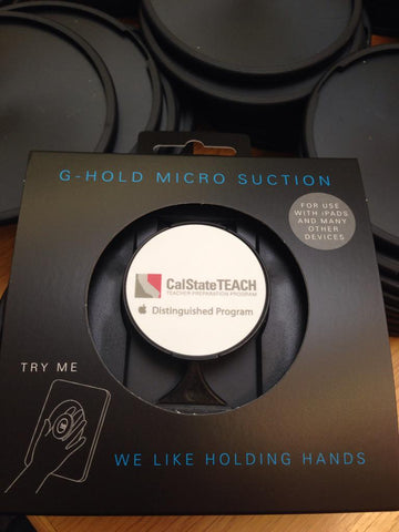 G-Hold® Ergonomic Tablet Holders  at CUE 2015