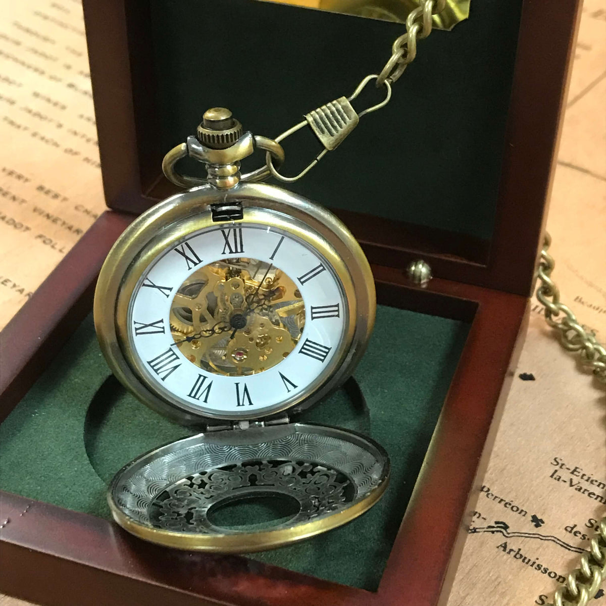 The Windsor Brass Antique Steampunk Pocket Watch Currently Out Of Pocket Watch Company