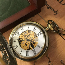 The Windsor - Brass Antique Steampunk Pocket Watch **CURRENTLY OUT OF STOCK**