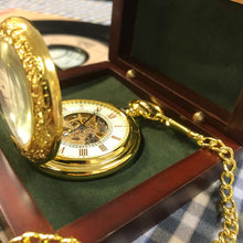The Balmoral - Ornate Gold Pocket Watch