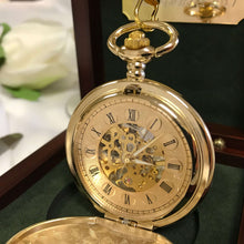 The Buckingham - Vintage Gold Pocket Watch
