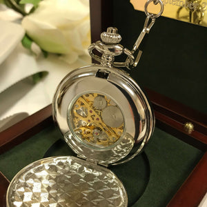The Sandringham - Classic Silver Gents Pocket Watch
