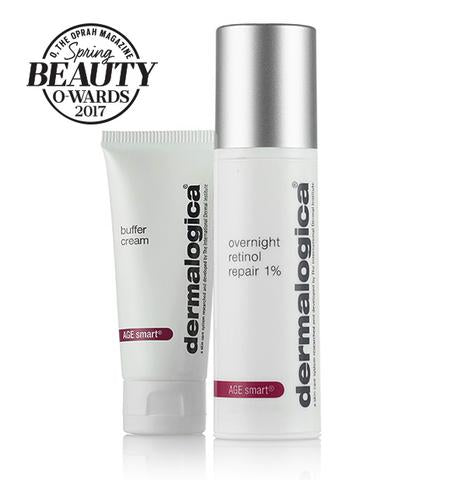 Overnight Retinol Repair 1% con Buffer Cream - Tester