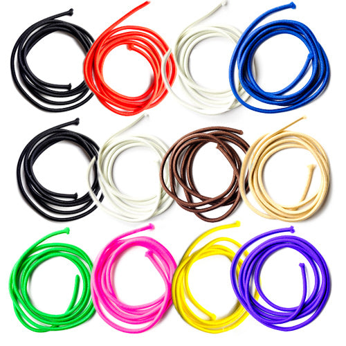 TIY is a premium colored customizable hair tie created for athletes that love fashion and high performance. DIY and easy to make, it adjusts to the volume of your hair avoiding breakages, stretch out dents, etc. Perfect for pony tail, sleek hair styles. 12 pack discount