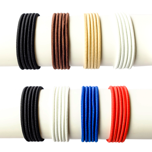 TIY is a premium colored customizable hair tie created for athletes that love fashion and high performance. DIY and easy to make, it adjusts to the volume of your hair avoiding breakages, stretch out dents, etc. Perfect for pony tail, sleek hair styles 8 pack america discount