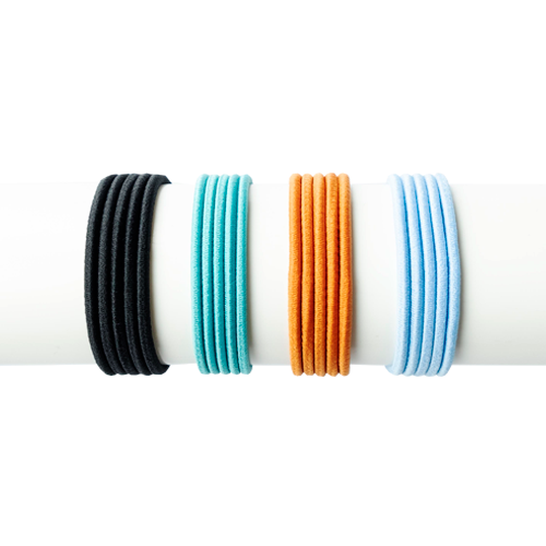 TIY is a premium colored customizable hair tie created for athletes that love fashion and high performance. DIY and easy to make, it adjusts to the volume of your hair avoiding breakages, stretch out dents, etc. Perfect for pony tail, sleek hair styles