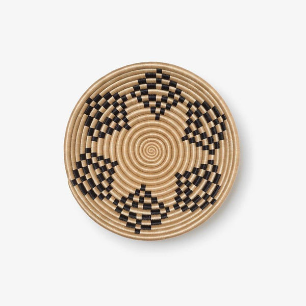 Bariku Woven Bowl - Black - Kala Home - Bowls & Trays
