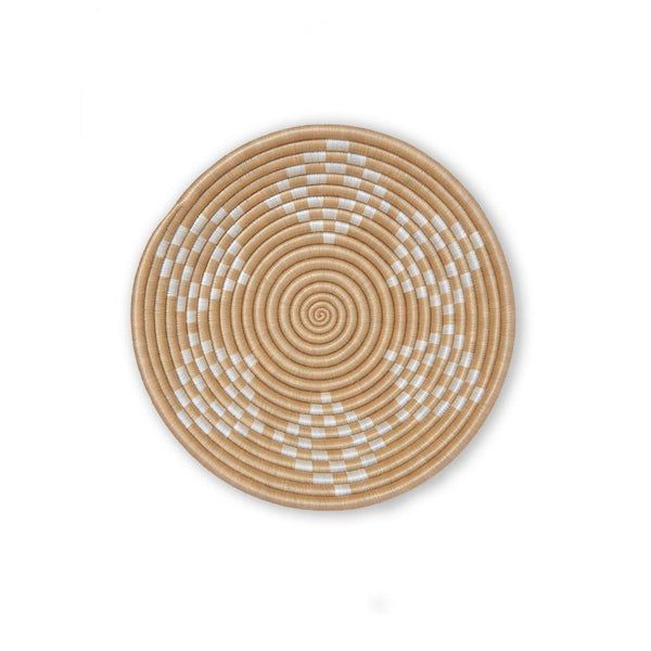 Bariku Woven Bowl - White - Kala Home - Bowls & Trays