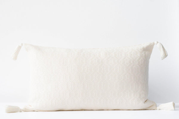 Nublina Pillow Lumbar - Ivory - Kala Home - Pillow