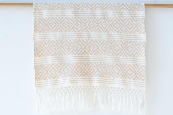 Kala Collective - Rombos Hand Towel - Blush