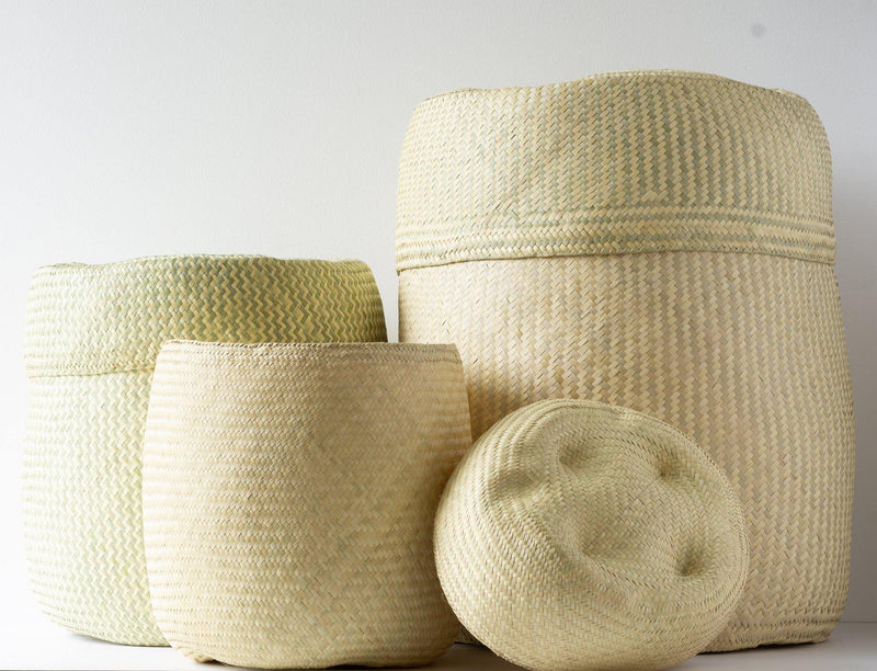 Kala Collective - Natural Palm Woven Baskets - Multiple Sizes