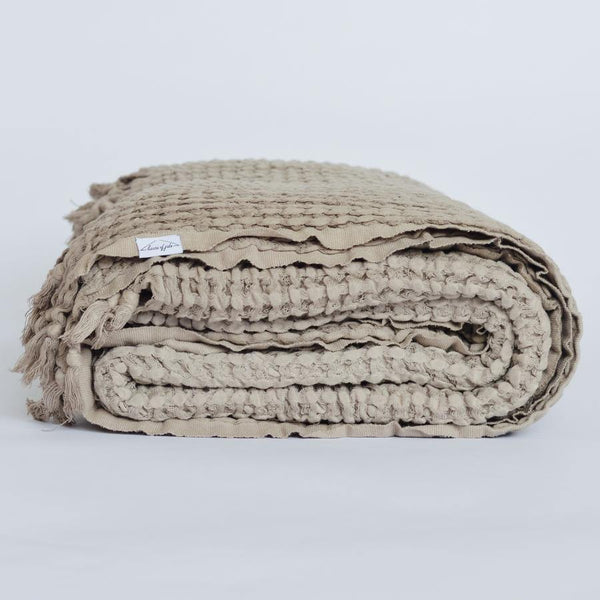 Waffle Blanket - Willow - Kala Home - Throw