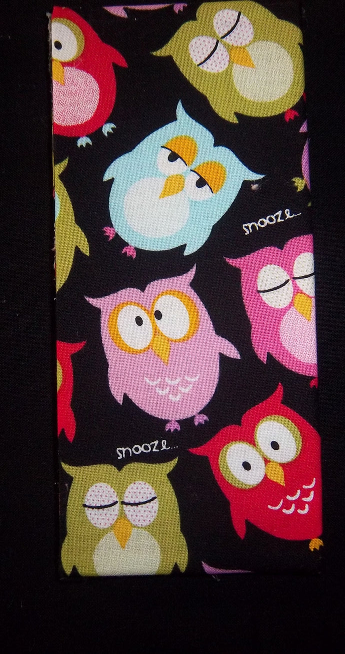 Black Snooze Owls Wonder Wallets & Server Books
