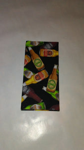 Beer Bottles Wonder Wallets & Server Books