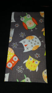 Hoot! Hoot! Gray w\Owls Wonder Wallets & Server Books