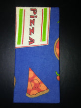 Pizza on Blue Wonder Wallets & Server Books
