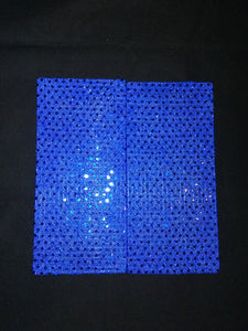 Blue Sequin Wonder Wallets & Server Books
