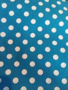Blue w\White Polka Dots Wonder Wallets & Server Books