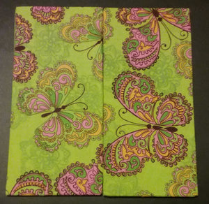 Green Butterflies Wonder Wallets & Server Books