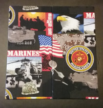 USMC Wonder Wallets & Server Books
