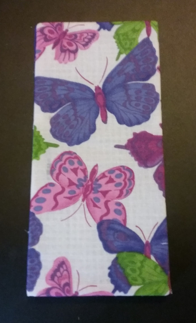 Purple & Pink Butterflies Wonder Wallets & Server Books