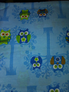 Owls on Blue Wonder Wallets & Server Books
