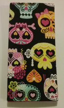 Funky Sugar Skull HALLOWEEN Wallets & Server Books
