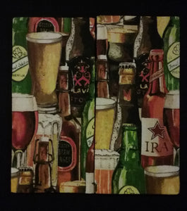 Beer Collage Wonder Wallets & Server Books