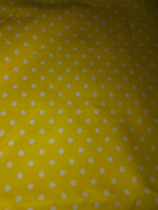 Yellow w\White Polka Dots Wonder Wallets & Server Books