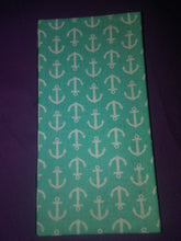 Anchors on Teal Server Books and Wonder Wallets